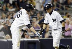 Yankees vs Rangers at Yankee Stadium