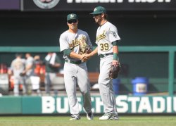 Oakland Athletics defeat the St. Louis Cardinals and win the series