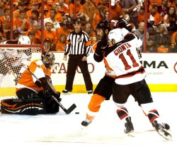 New Jersey Devils-Philadelphia Flyers round two Stanley Cup Playoffs