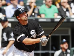 White Sox Konerko homers against Indians on Opening Day in Chicago