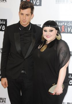 "Mark Ronson and Beth Ditto attend ""Keep a child alive- black ball"" in London"