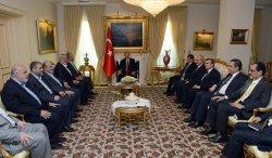 Turkish Prime Minister Erdogan Meets Hamas Chiefand Ismail Haniyeh