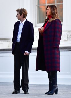 The First Lady Receives the White House Chrimstas Tree in Washington, D.C.