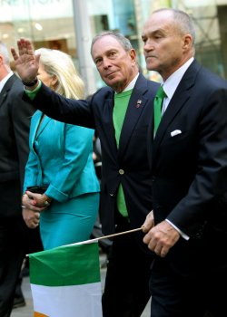 The 251st Annual St. Patrick's Day parade takes place in New York