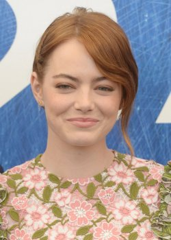 Emma Stone at a photo call for La La Land at the 73rd Venice Film Festival in Venice