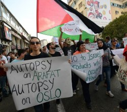 Palestinians Protest High Cost Of Living, Ramallah