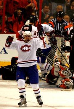 Philadelphia Flyers vs Montreal Canadiens