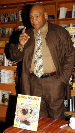 GEORGE FOREMAN PUBLISHES HIS FIRST CHILDREN BOOK