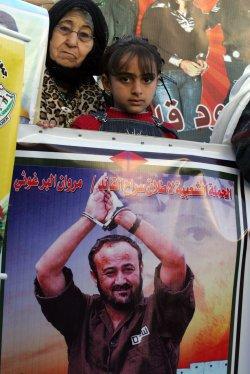 Protests on Palestinians Imprisoned in Israeli Jails