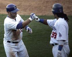 NLCS Game 2: Philadelphia Phillies at Los Angeles Dodgers