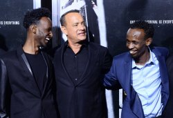 """""""Captain Phillips"""" premieres in Beverly Hills, California."""