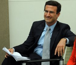 OMB Director Orszag speaks in Washington