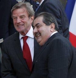 Iraqi Prime Minister al-Maliki meets with French President Sarkozy in Paris