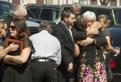 Funeral Services for Aurora Movie Massacre Victim Macayla Medek in Denver