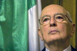 Italian President Giorgio Napolitano visits Israel