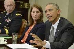President Obama attends meeting on Ebola crisis at the White House