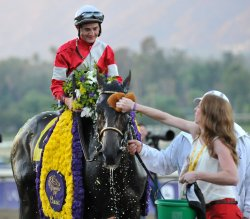 Fort Larned gets sponged off in California