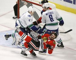 NHL Western Conference Semifinals Vancouver Canucks vs Chicago Blackhawks
