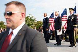 September 11 ceremonies at the Pentagon in Arlington, Virginia