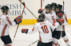 WORLD JUNIOR HOCKEY CHAMPIONSHIPS, CANADA VS RUSSIA