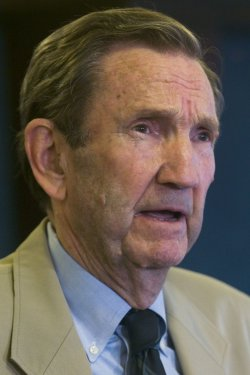 Ramsey Clark speaks about the formation of an Emergency Committee on Iraq