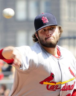 Cardinals Boggs pitches in eighth inning of in Pittsburgh