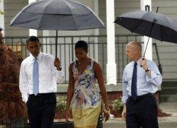 U.S. President Obama visits New Orleans