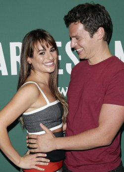 Lea Michele signs copies of her book 'Brunette Ambition'