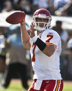 QB Matt Cassel and the Chiefs defeat the Raiders in Oakland, California