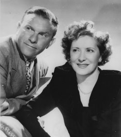 Comedians George Burns and Gracie Allen in 1951