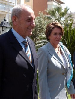 U.S. HOUSE SPEAKER PELOSI ON MIDDLE EAST FACT FINDING MISSION