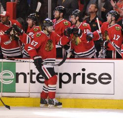 Blackhawks' Frolik scores in Chicago