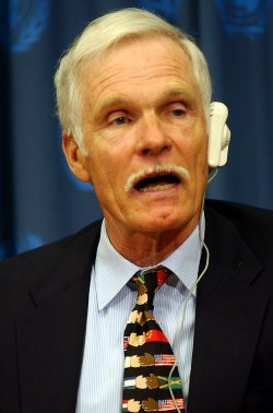 TED TURNER HONORED WITH ALAN CRANSTON PEACE AWARD