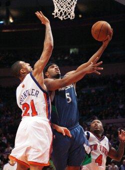 Minnesota Timberwolves vs New York Knicks in New York