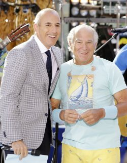 Jimmy Buffett performs on the NBC Today Show