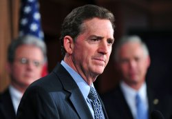 Rep. Jim DeMint speaks on the cut, cap and balance bill in Washington