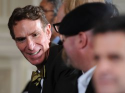 Bill Nye attends the White House Science Fair in Washington