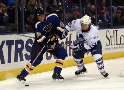 TORONTO MAPLE LEAFS VS ST. LOUIS BLUES HOCKEY