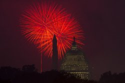 Fourth of July Fireworks in Washington, D.C.