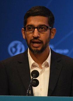 Google CEO Sundar Pichai speaks at GES 2016