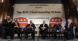 Candidates for chair of RNC debate in Washington