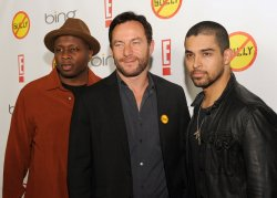 "Steve Harris, Jason Isaacs and Wilmer Valderrama attend the ""Bully"" premiere in Los Angeles"