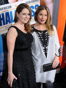 "Christina Applegate and Jenna Fischer attend the ""Hall Pass"" premiere in Los Angeles"