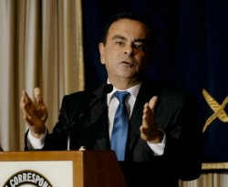 Carlos Ghosn holds press conference in Tokyo