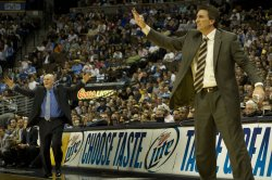 Coaches Del Negro and Karl React in Denver