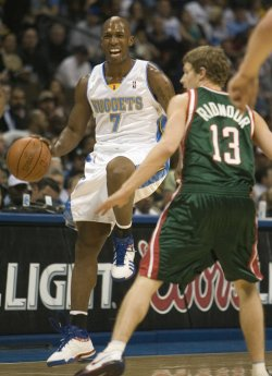 NBA Denver Nuggets host Milwaukee Bucks