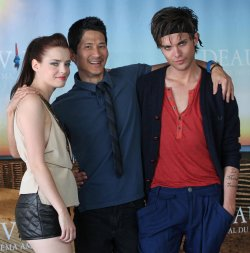 Kaboom team arrives at American Film Festival in Deauville