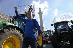 Farmer demonstration in Paris
