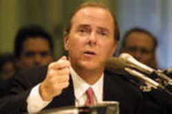 Senate hearing on the collapse of the Enron Corporation