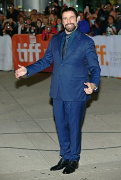 John Travolta attends 'The Forger' world premiere at the Toronto International Film Festival
